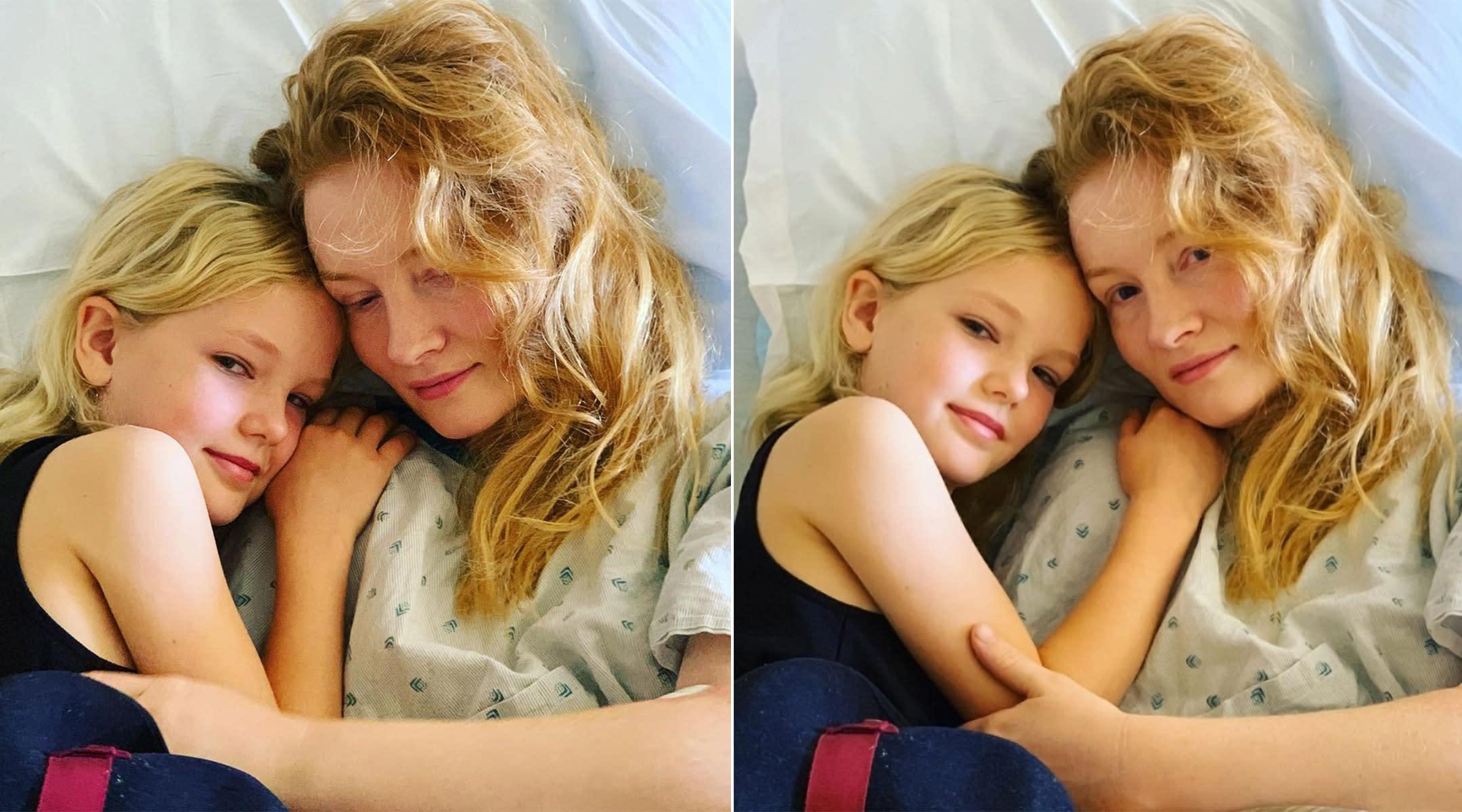 kimberly van der beek suffers a miscarriage