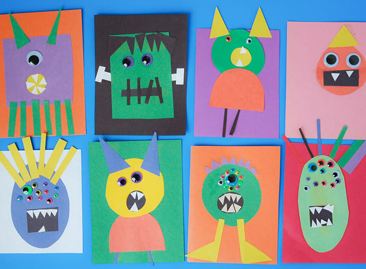42 Halloween Crafts For Kids And Toddlers