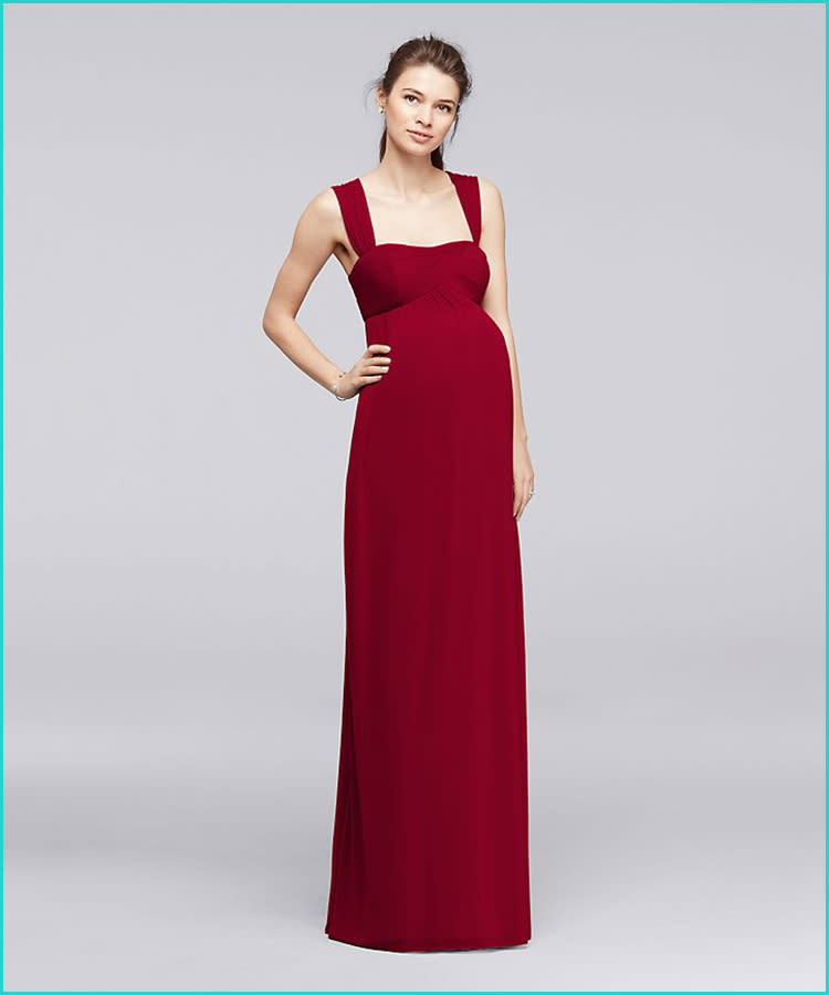 9a92ff0e 27 Maternity Bridesmaid Dresses for Any Style and Size