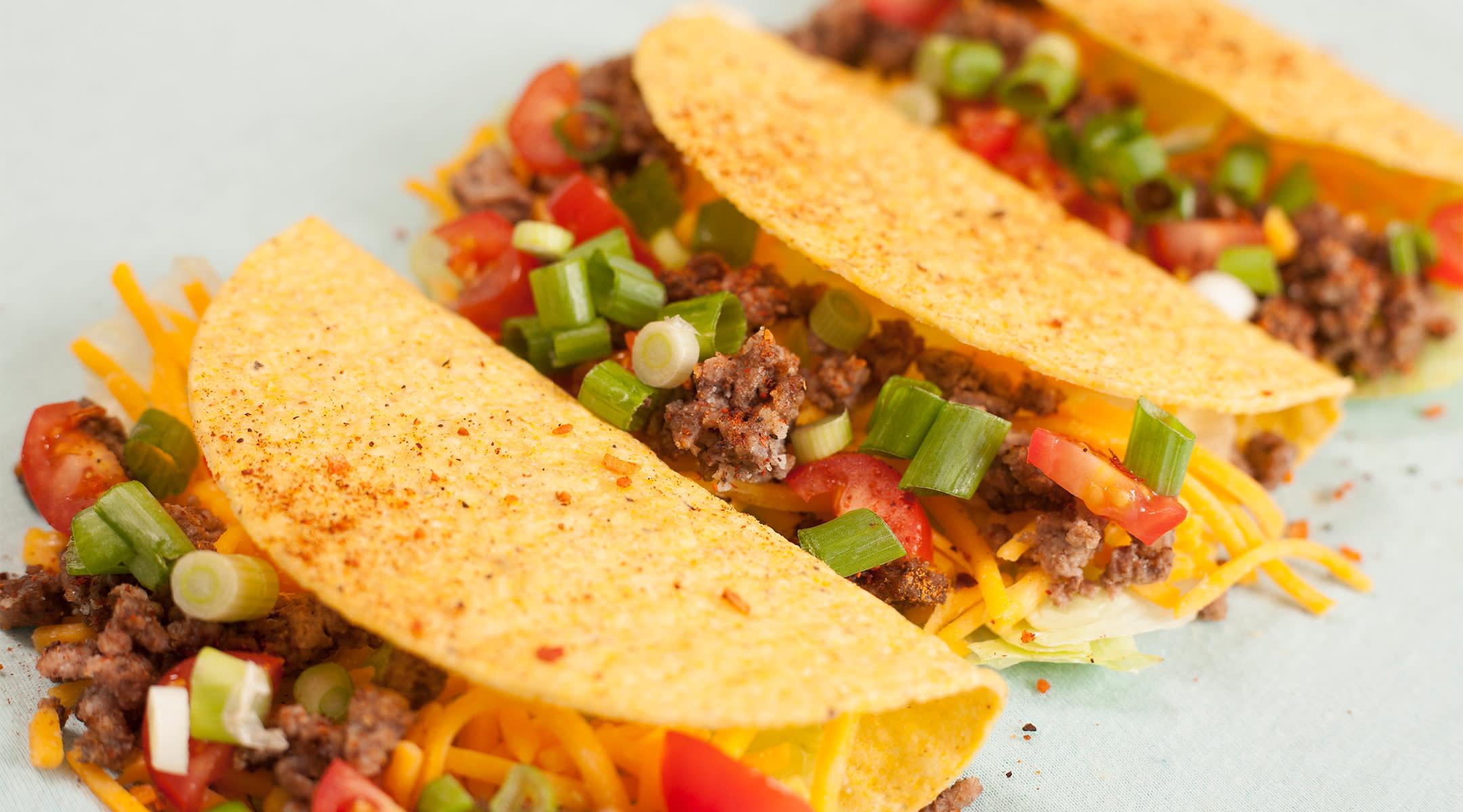 mom illustrates pregnancy week by week with taco bell menu items