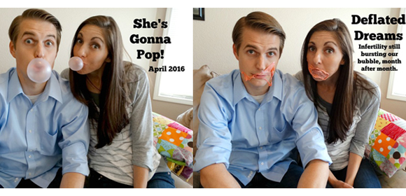 This Couples Emotional Pregnancy Announcement Shares a Powerful Message About Infertility