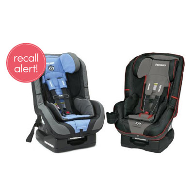 recaro recalls proride and performance ride convertible car seats. Black Bedroom Furniture Sets. Home Design Ideas