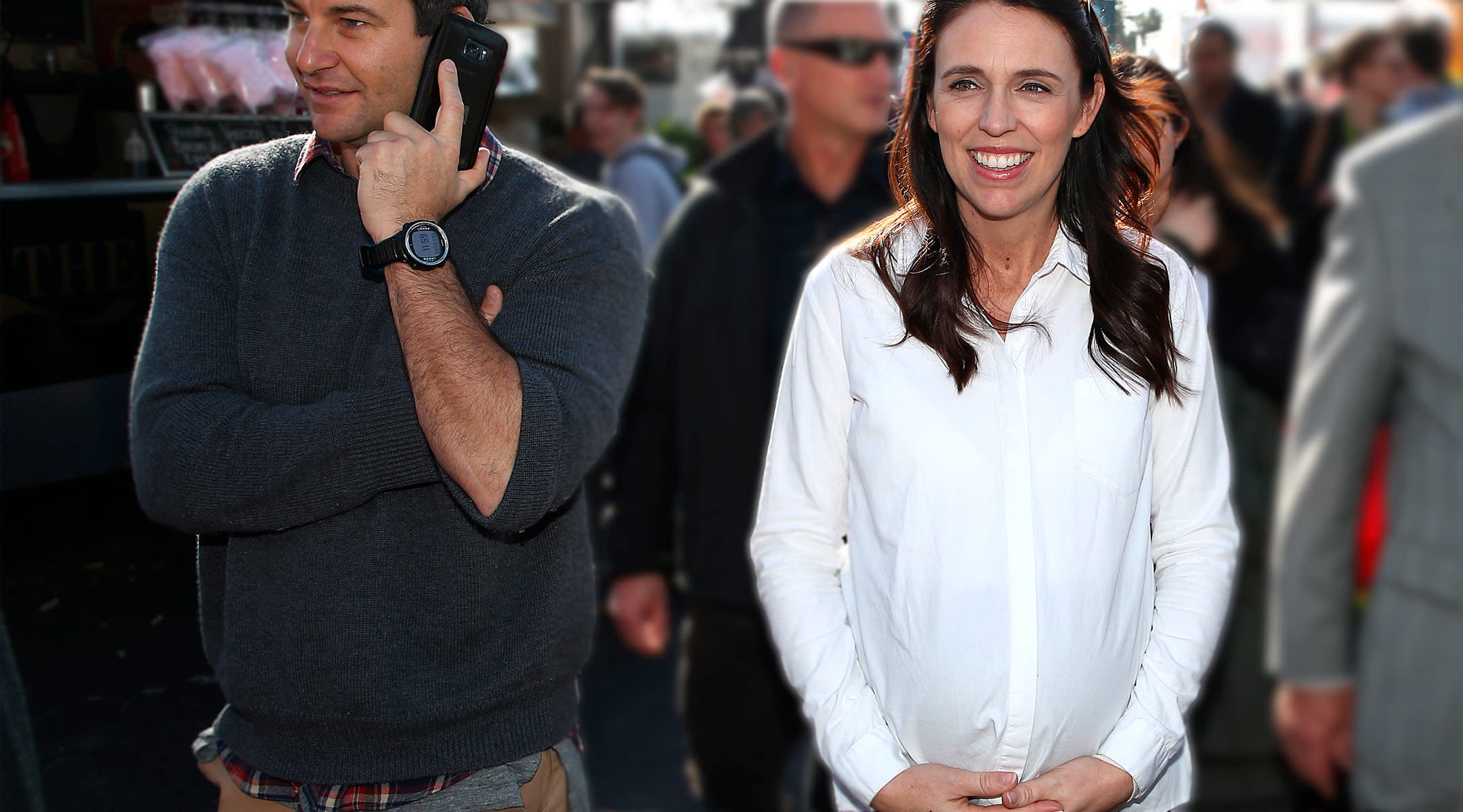prime minister of New Zealand, Jacinda Ardern gives birth