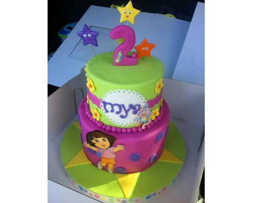 Best Birthday Cake Ideas For Tots - 2nd birthday cake designs