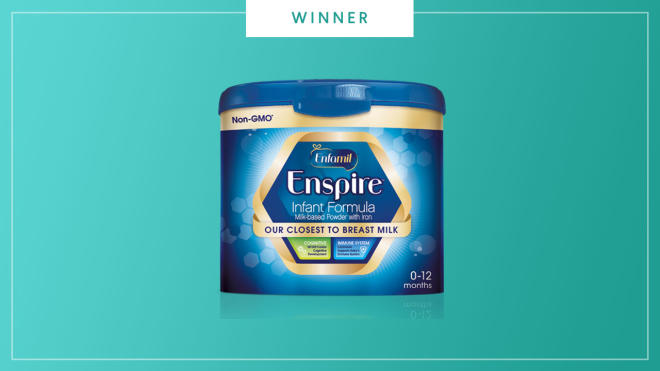 Enfamil Enspire wins the 2017 Best of Baby Award from The Bump.