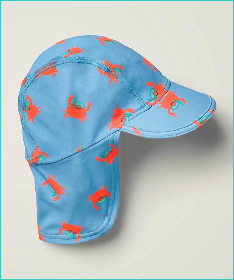 Girl Size Newborn White Rainbow Reversible Bucket Sun Beach Hat GAP Baby Boy