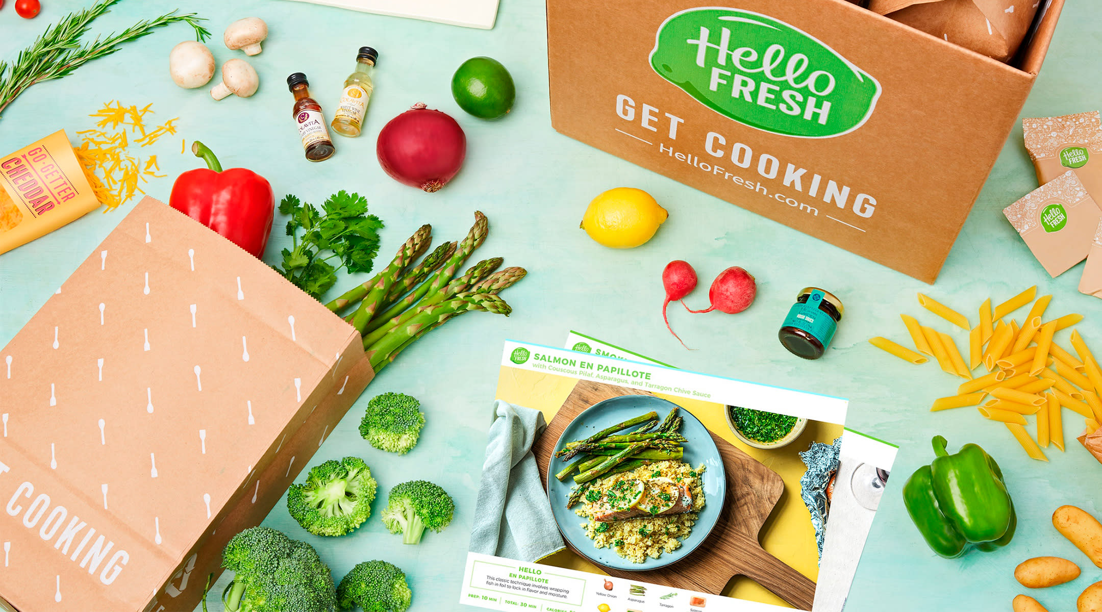 hello fresh meal subscription ingredients