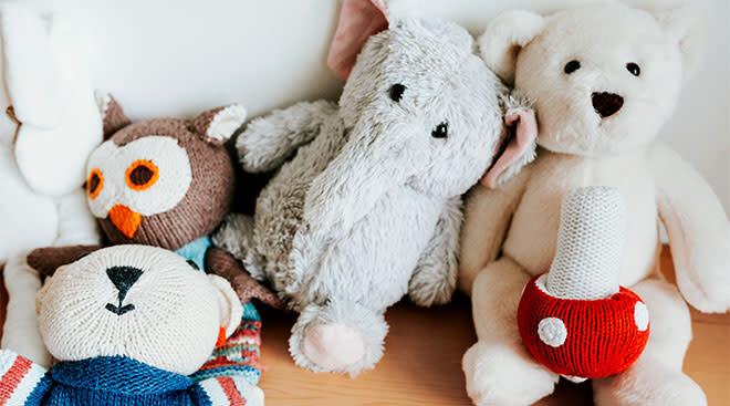 stuffed animal baby toys