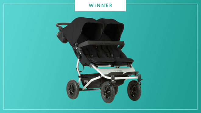 Mountain Buggy Duet wins the 2017 Best of Baby Award from The Bump