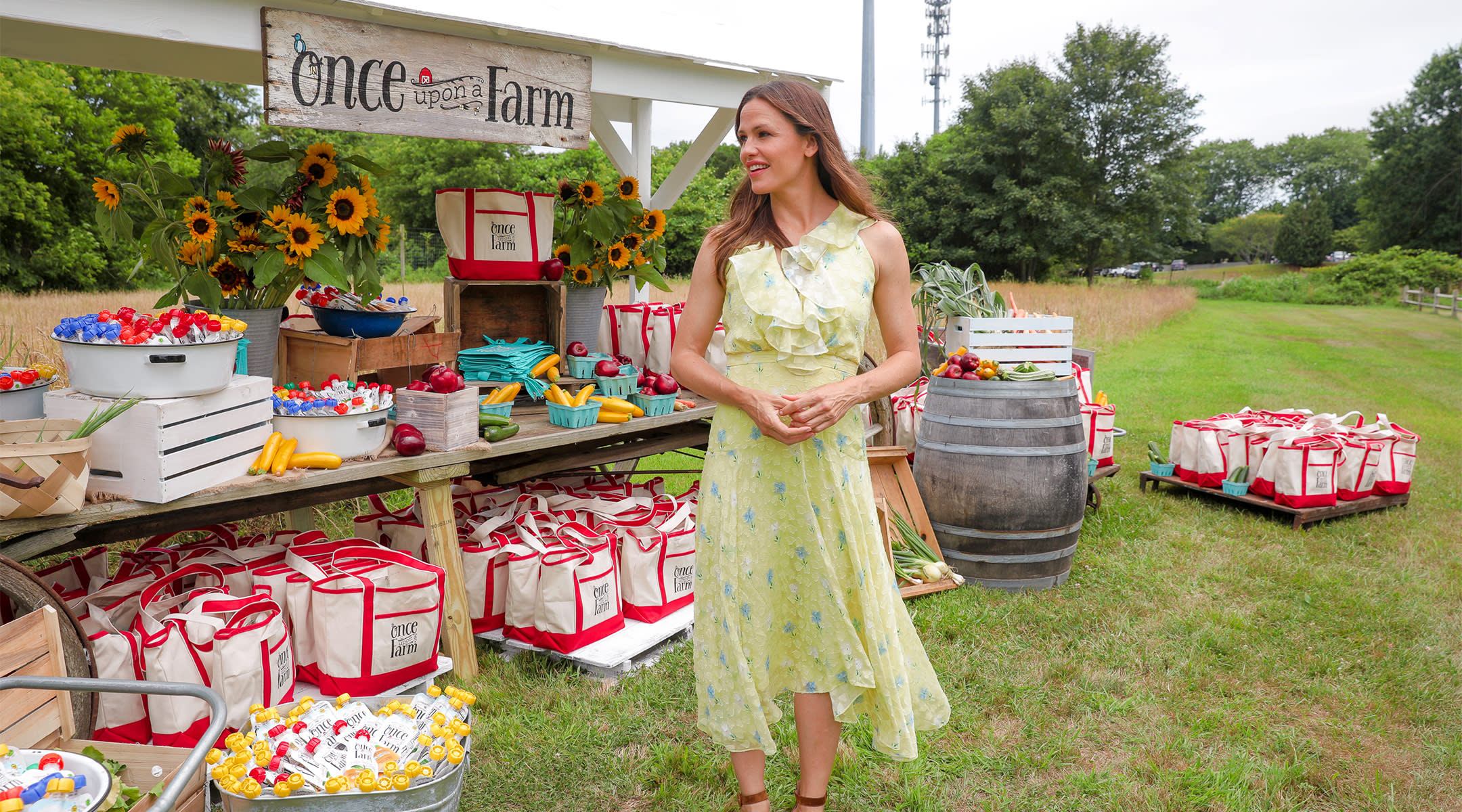 jennifer garner launch of her baby food brand, Once Upon a Farm