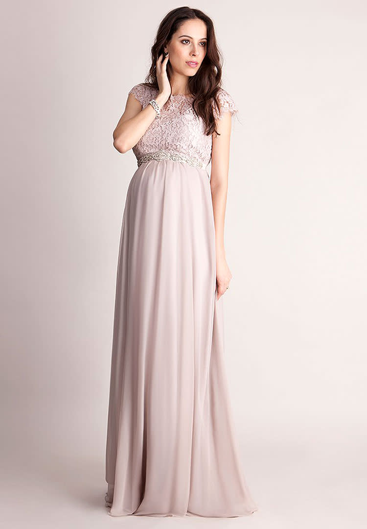 90518445e1a Seraphine floor length formal summer maternity dress. Long ...