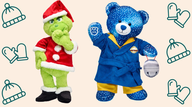 the build a bear workshop releases holiday character collection