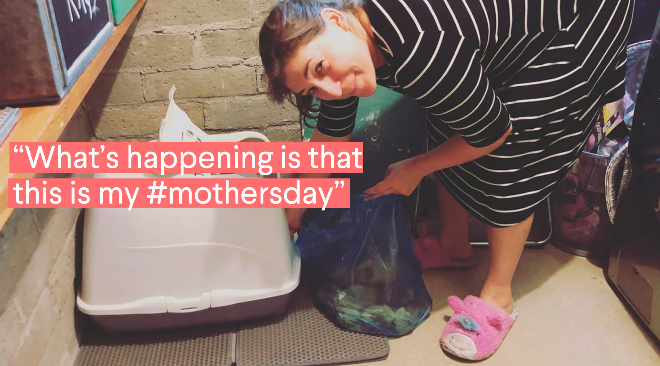 mayim bialik on mother's day