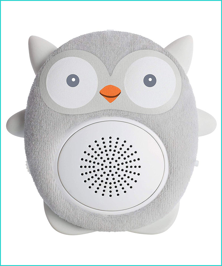 White Noise Sound Machine With Night Light For Baby Kids Toddlers Bedroom