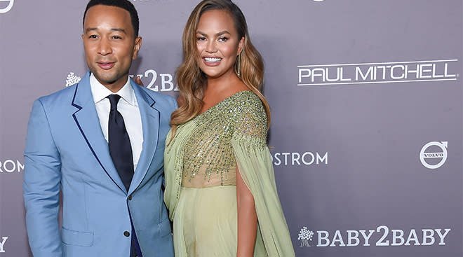 chrissy tiger announces that she's pregnant