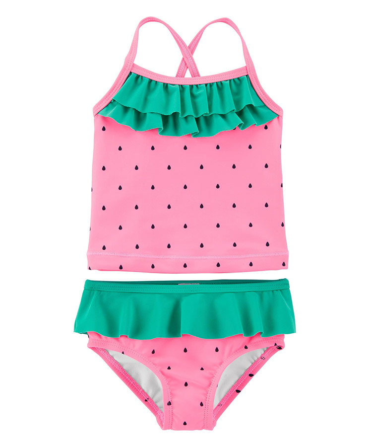 NWT Cat /& Jack Baby Girls Size 3-6 Months Swimsuit Bathing Suit Summer
