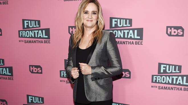 samantha bee talks about pregnancy discrimination in the workplace