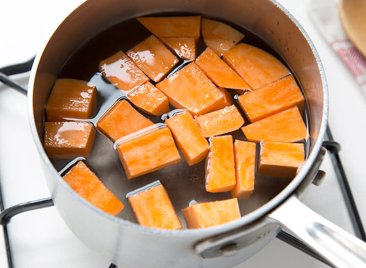 Can You Steam Sweet Potatoes For Baby Food