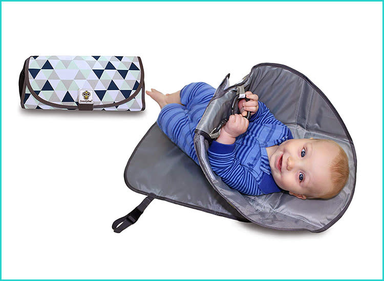 Snoofy Bee Portable Baby Changing Pad