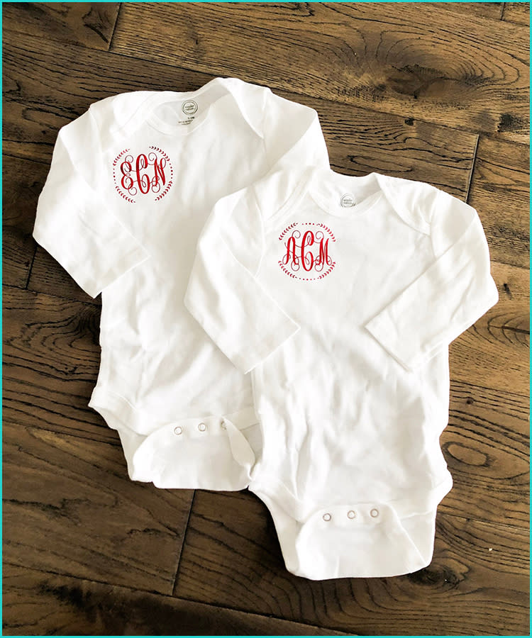 7e8d65a04 15 Monogrammed Baby Gifts That'll Melt Parents' Hearts