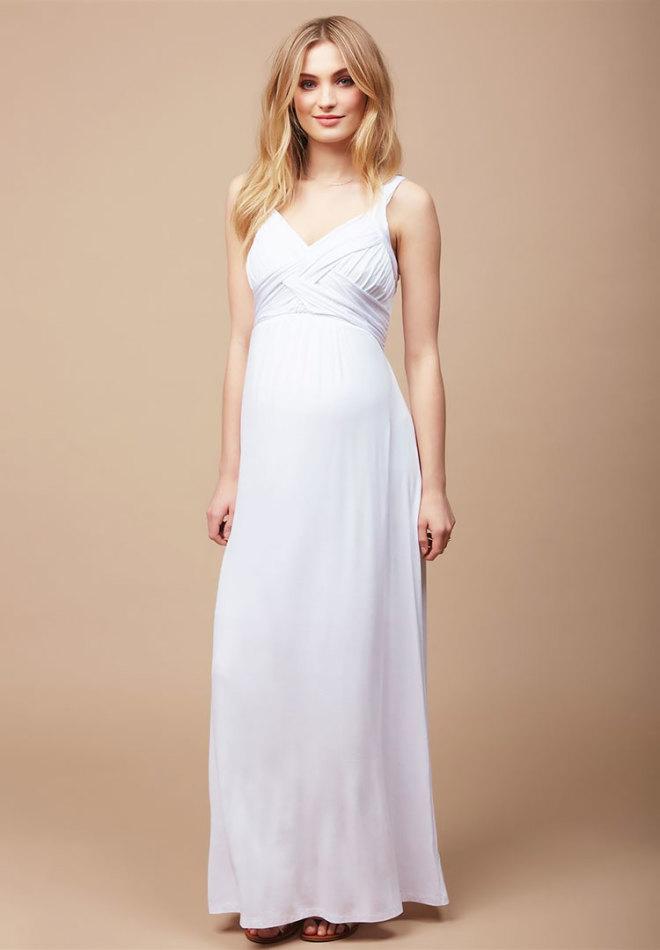 23 maternity wedding dresses destination maternity cross back cheap maternity wedding dress junglespirit Images