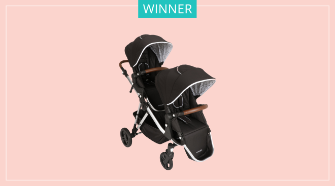 Mockingbird single to double stroller