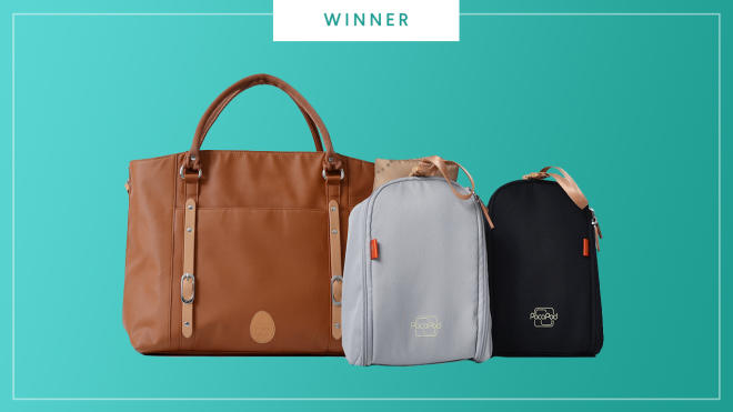 Pacapod Mirano Diaper bag wins the 2017 Best of Baby Award from The Bump.