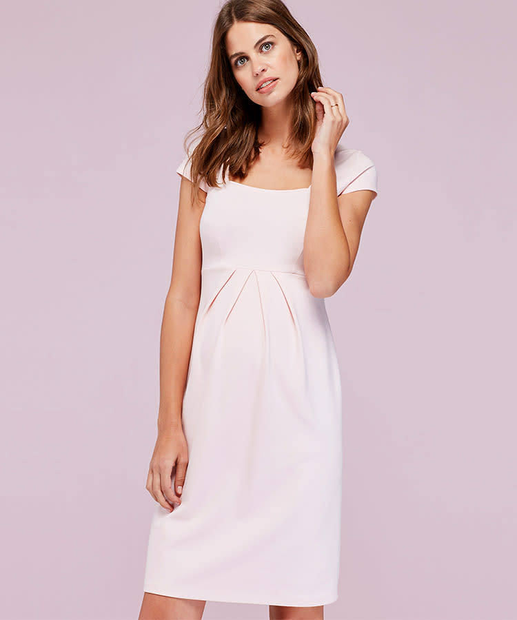 6 Isabella Oliver Blush Farah Formal Maternity Dress