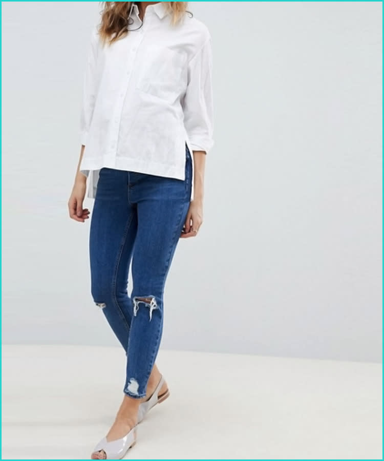 b1a144cfaadb4 15 Best Maternity Jeans for Every Style