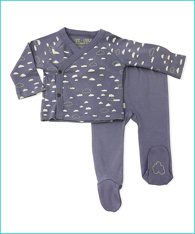 The Childrens Place Baby Boys Long Sleeve Two in One Sweater Set