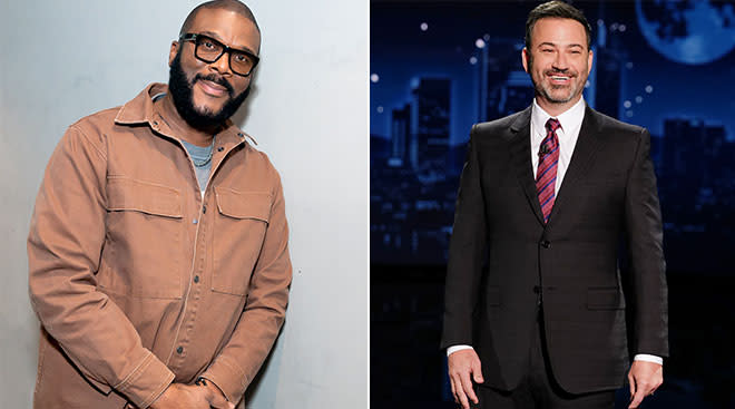 tyler perry and jimmy kimmel both to be voice actors on the new paw patrol movie