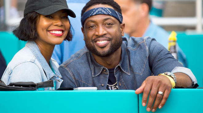 dwayne wade and gabrielle union welcome a new baby