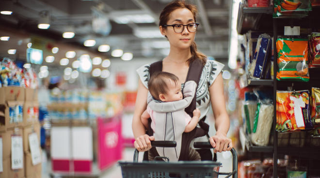 Invisible labor for moms, praise for dads being good parents