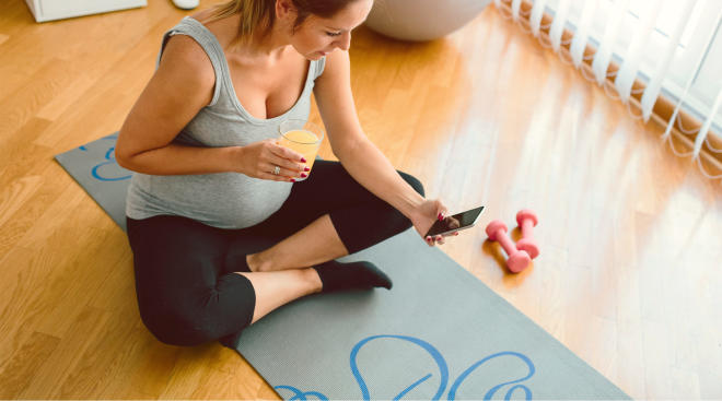 pregnant woman urges tech companies to have better pregnancy fitness apps