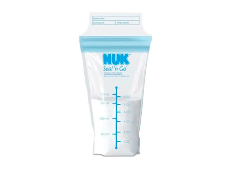 3 Nuk Seal Go T Milk Storage Bags