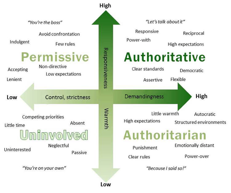 parenting styles assignment