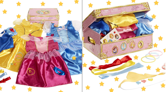 disney princess dress up box from amazon