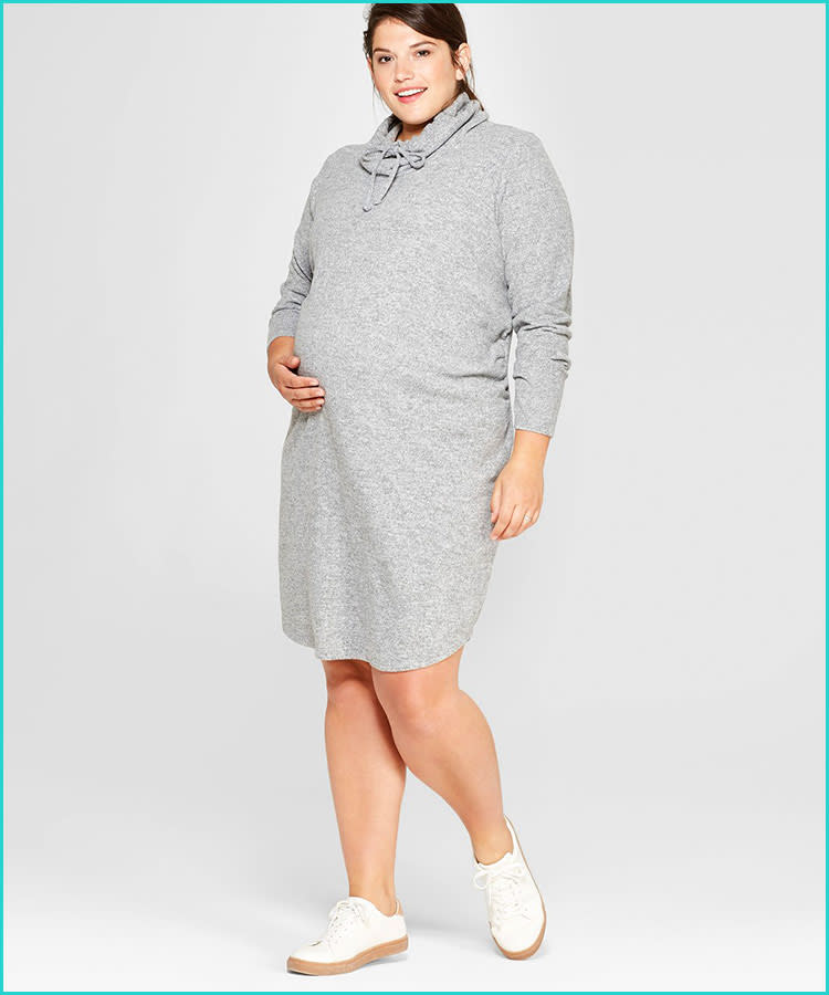 acb768330f327 24 Fall & Winter Maternity Dresses to Buy Now