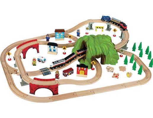 how to build imaginarium train spiral
