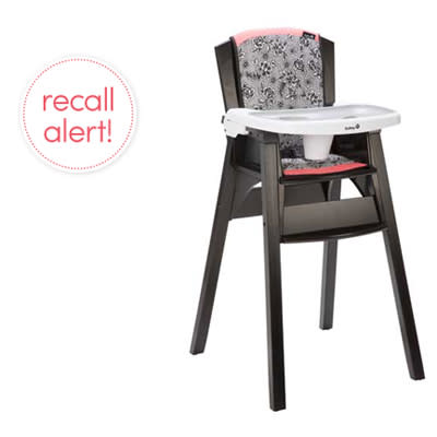 Safety 1st Recalls D cor Wood High Chairs – Safety 1st Wooden High Chair