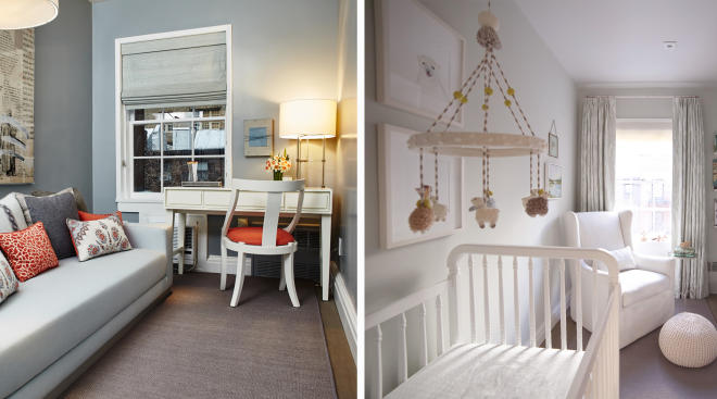 Before and after nursery