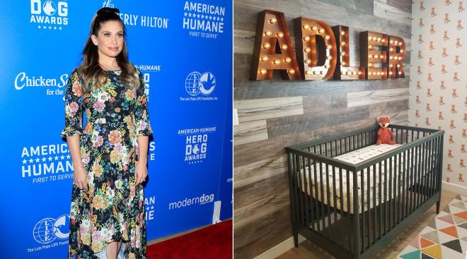 actress danielle fishel karp gives birth 4 weeks early