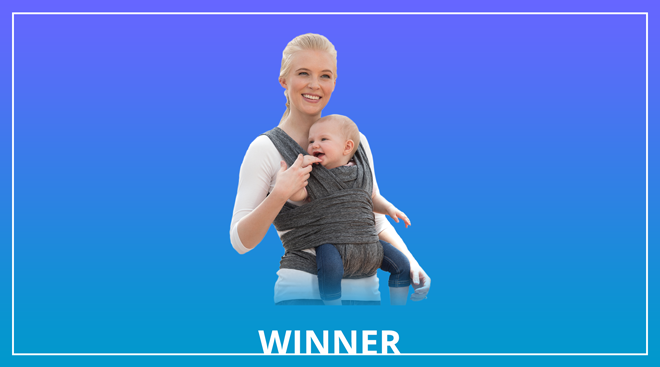 boppy comfort fit wrap baby carrier