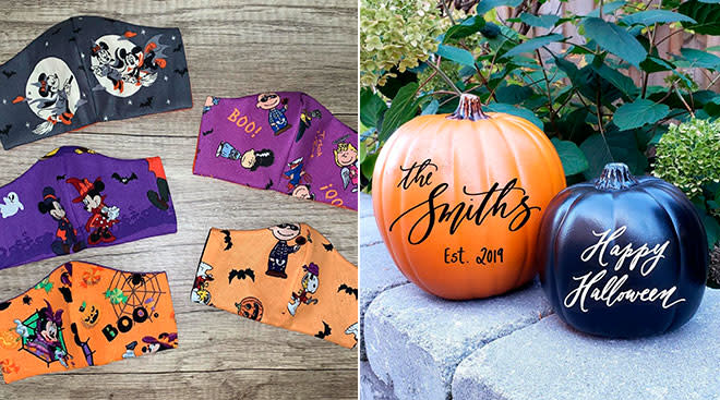 etsy halloween themed products