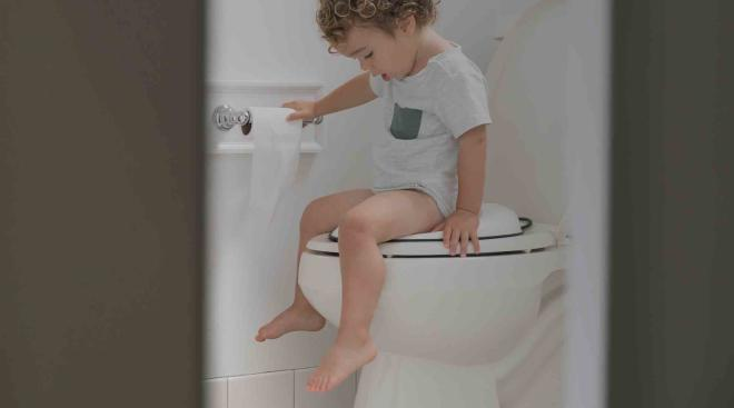 toddler boy, nighttime potty training
