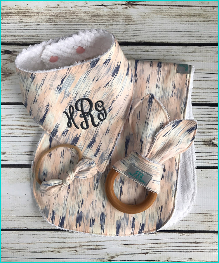 af42c9ad4f685 15 Monogrammed Baby Gifts That'll Melt Parents' Hearts