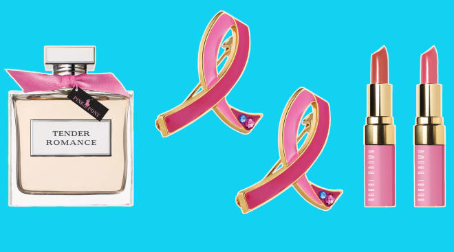 products that support breast cancer research