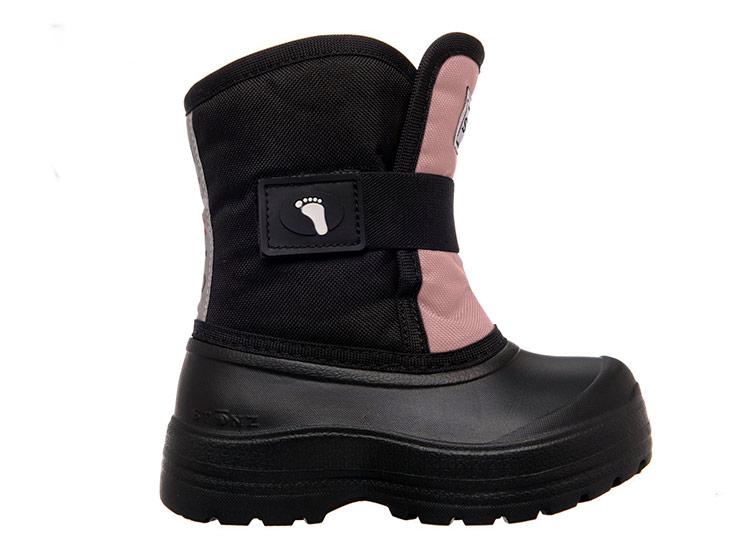 Northside FROSTY Girls Berry Pink Nylon Waterproof Rubber Duck Snow Kids Boots