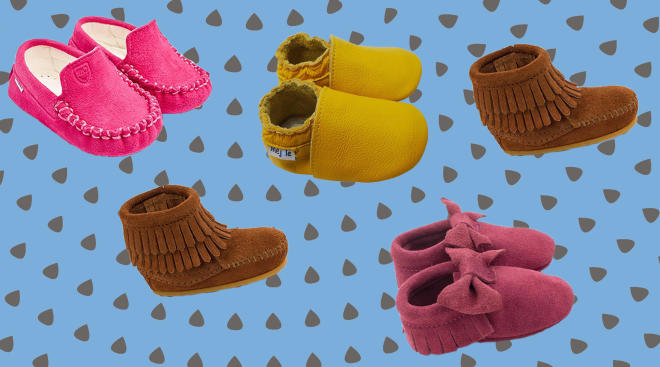 Baby Moccasin hero collage