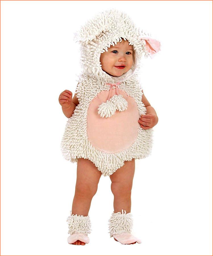 princess paradise baby halloween costume lamb